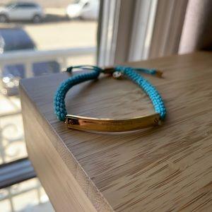 Michael Kors Teal Bracelet